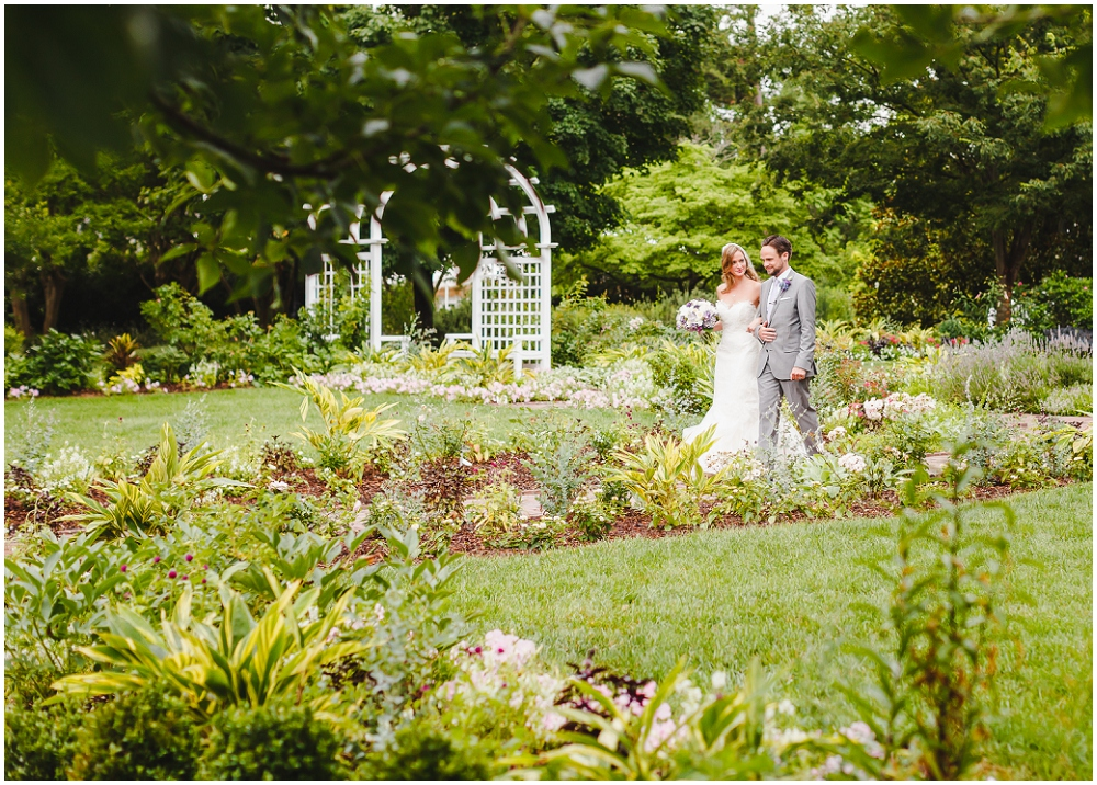 Sarah And Simon S Lewis Ginter Botanical Gardens Wedding