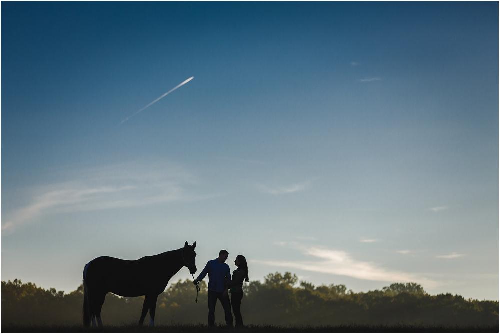 Maryland sunrise farm wedding