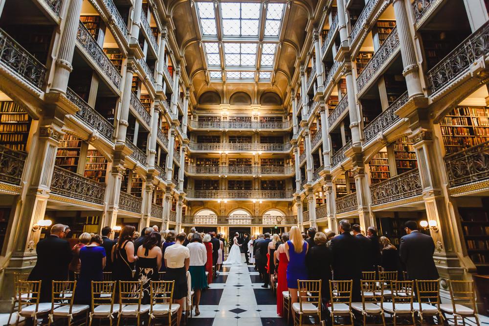 Peabody Library Wedding Photographers Baltimore Wedding Photographers-1275