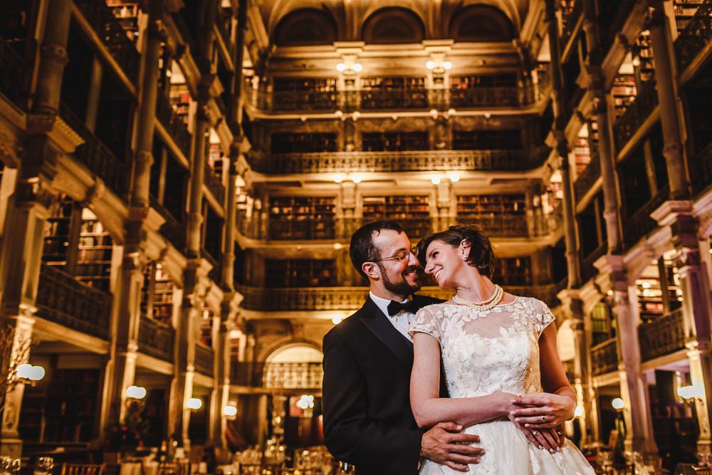 Peabody Library Wedding Photographers Baltimore Wedding Photographers-2141