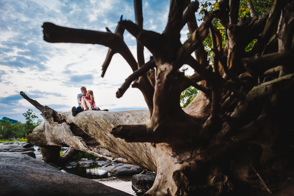 Richmond River Engagement Session Flood Wall-0240