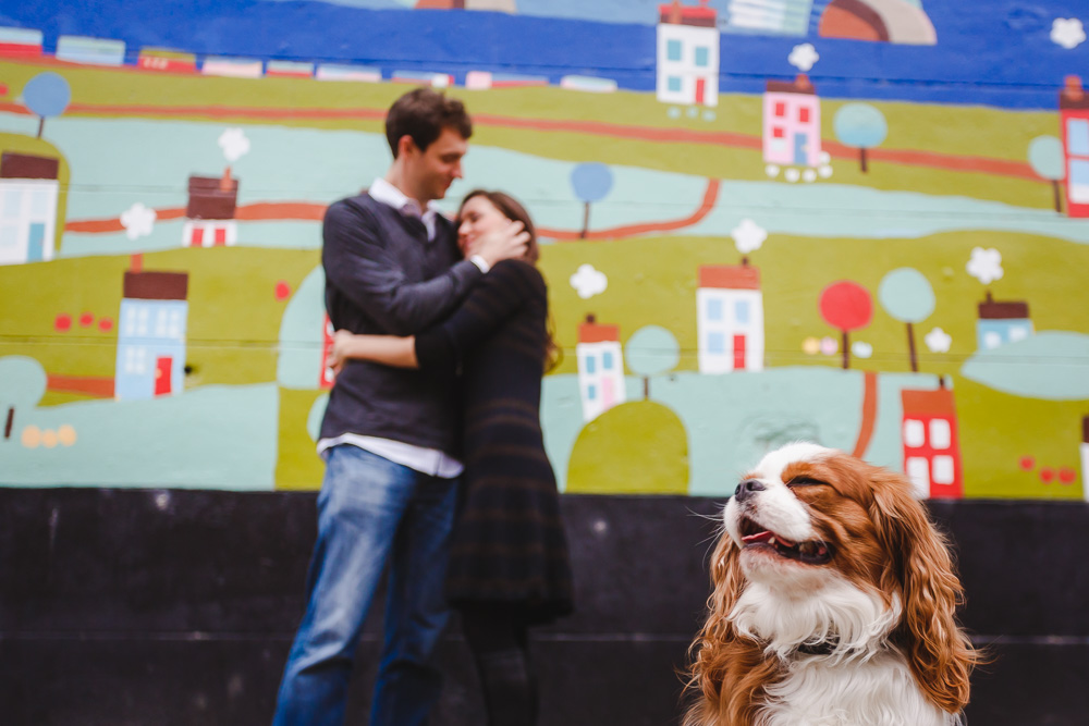 church hill engagement session-