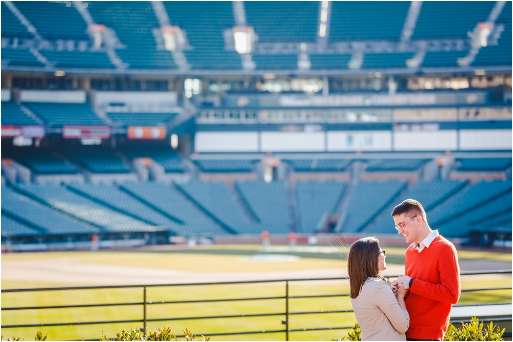 Camden Yards Engagement Session Baltimore Richmond Virginia Wedding Photographers_0132