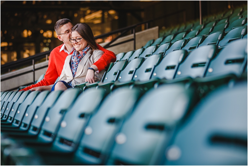 Camden Yards Engagement Session Baltimore Richmond Virginia Wedding Photographers_0133