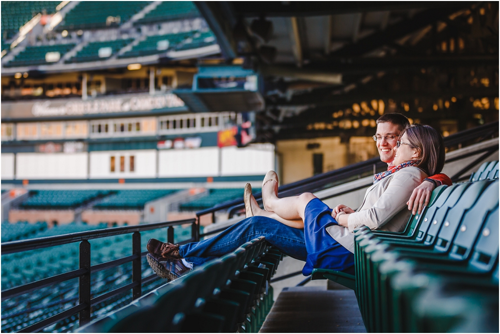 Camden Yards Engagement Session Baltimore Richmond Virginia Wedding Photographers_0134