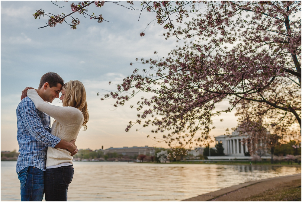 DC Cherry Blossom Engagement Session Washington DC Wedding Photographer_0162