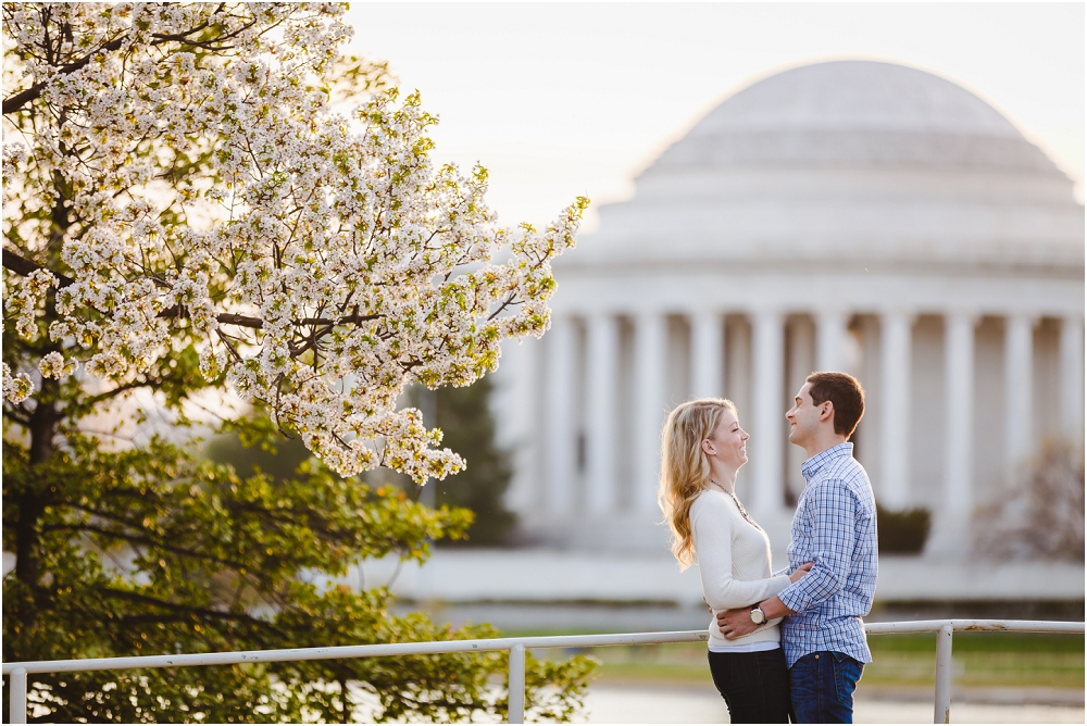 DC Cherry Blossom Engagement Session Washington DC Wedding Photographer_0163