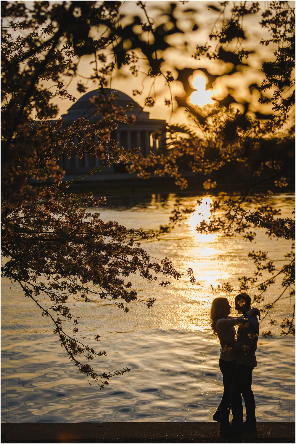 DC Cherry Blossom Engagement Session Washington DC Wedding Photographer_0164