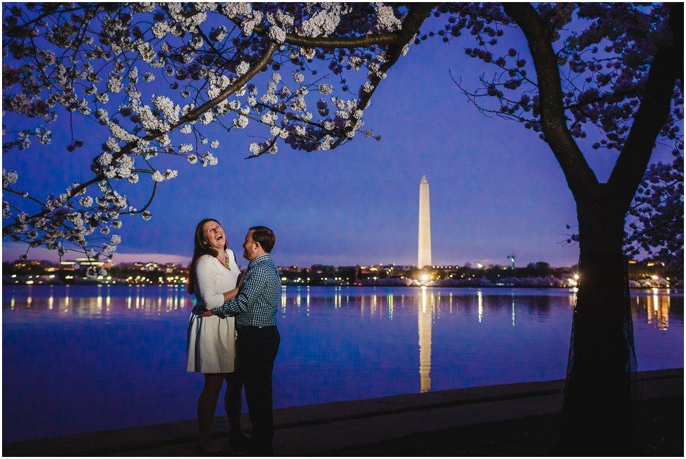 Washington DC Cherry Blossom Engagement Session Wedding Richmond Wedding photographers_0001